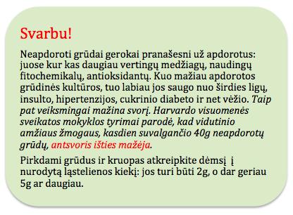 antsvoris grudai neapdoroti vezys cinkas diabetas